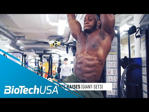 Advanced Core Workout - Daily Routione with Ulisses - BioTechUSA