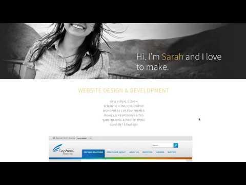 Creating a Competitive Portfolio Site