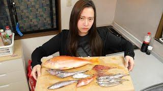 漁師の妹に魚を捌かせてみたんですが、彼女は上手く捌けたと思いますか?