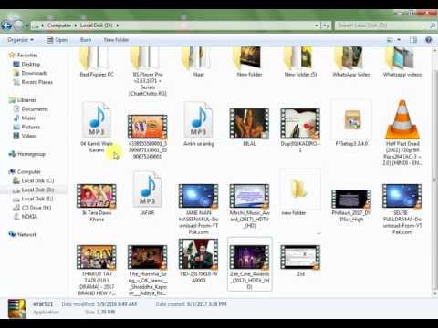 How to hidden files UNhidden   in computer