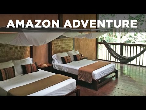 Rainforest Expeditions Amazon Adventure Tour & Wildlife video 2015 [HD]