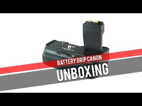 UNBOXING - Battery Grip Canon EOS 500D à 700D (poignée d'alimentation) à prix canon