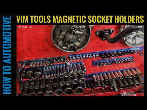 Tool Review of VIM Tools Magrail Magnetic Socket Holder and Tool Organizer