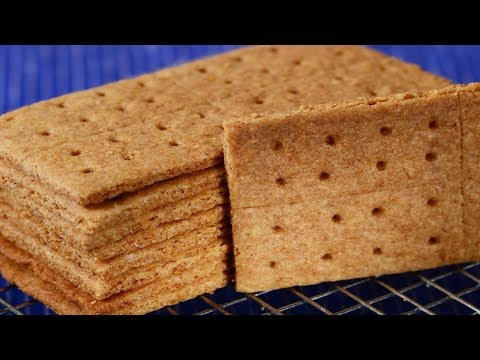 Homemade Graham Crackers Recipe Demonstration - Joyofbaking.com