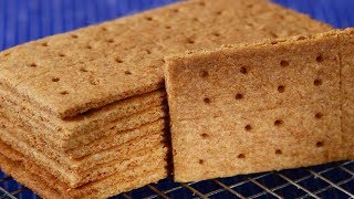 Homemade Graham Crackers Recipe Demonstration - Joyofbaking.com
