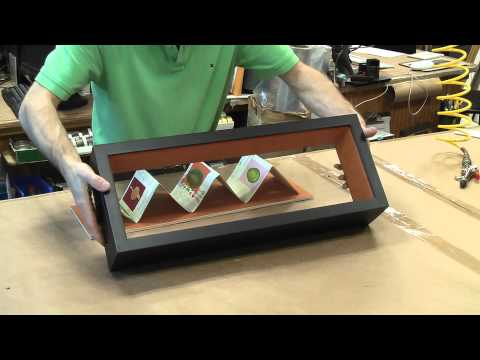 Shadow box framing