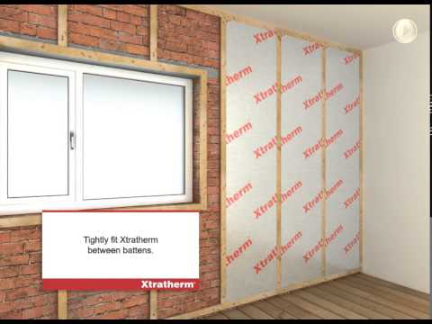 Xtratherm Drylining MF Between/Over Battens