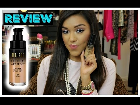 Milani Conceal and Perfect 2 N 1 Foundation & Concealer Review