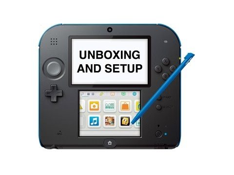 Nintendo 2DS - Unboxing and Setup
