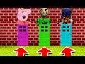 Minecraft PE DO NOT CHOOSE THE WRONG DOOR Sonicexe Peppa Pig Nightmare Baldi