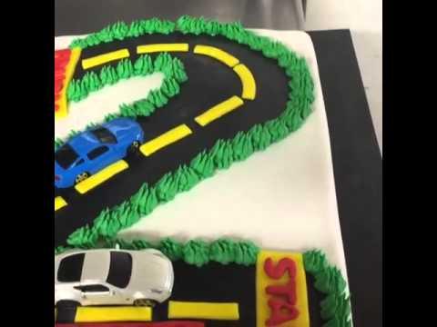Happy birthday cake at Di Bella 2016