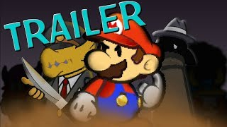 Trailer : Murder on the owl express (Paper Mario Animation recreation)