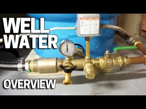 Well Water Pressure, Pumps & Tanks - How It Works