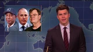 SNL takes aim at Flynn, Trump, Lauer