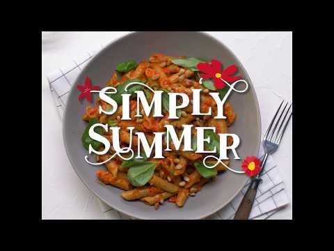 Creamy Vegan Capsicum Pulse Penne - Simply Summer