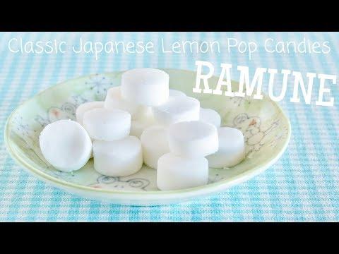 Classic Japanese Lemon Pop Candy (Ramune Recipe)   OCHIKERON   Create Eat Happy :)