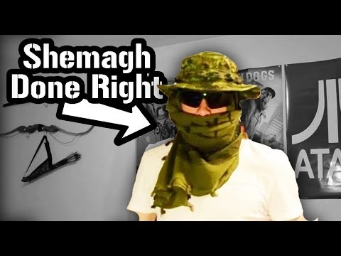 How to Tie a Shemagh - Military Style