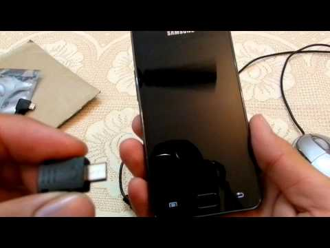 Samsung Galaxy S2, S3, S4 - How to use Pen Drive, USB Mouse, OTG Cable, USB Jig, Call Recorder
