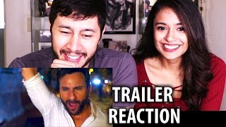 KAALAKAANDI | Saif Ali Khan | Trailer Reaction w/ Sharmita!