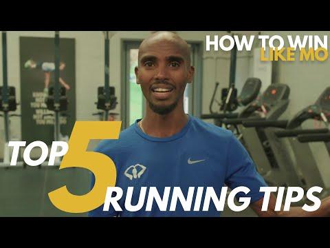 Mo Farah's TOP 5 RUNNING TIPS   How to Win Like Mo