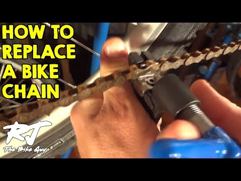 How To Replace A Bike Chain (KMC Z-72)