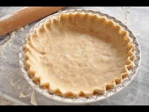 Flakey Pie Crust - easy pie crust recipe