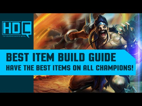 Best item sets for every Champion - League of Legends s6 Guide