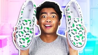 DIY How To Make GUAVA JUICE SHOES!