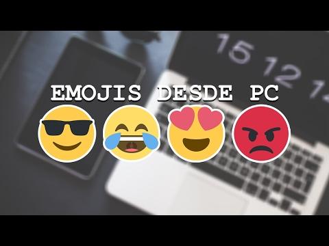 Como Poner Emojis En Las Redes Sociales Desde PC