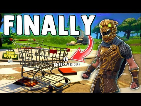 SHOPPING CART IN FORTNITE & BLUE HOLE SUING EPIC GAMES (or at least trying to)