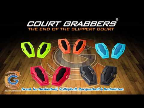 How to Stop Slippery Basketball Shoes: Court Grabbers Worn on Shoes