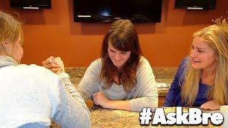 ARM WRESTLING MY SISTERS!! | #AskBre