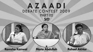 Youth Parliament - Debate Contest (Part 05)