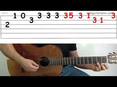 Guitar Lesson 4J: Jingle Bells Verse