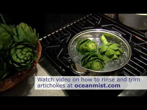 How to Boil an Artichoke