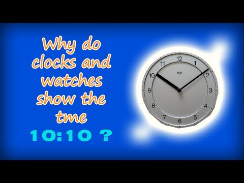 Why is 10:10 the Default Setting for Clocks and Watches?
