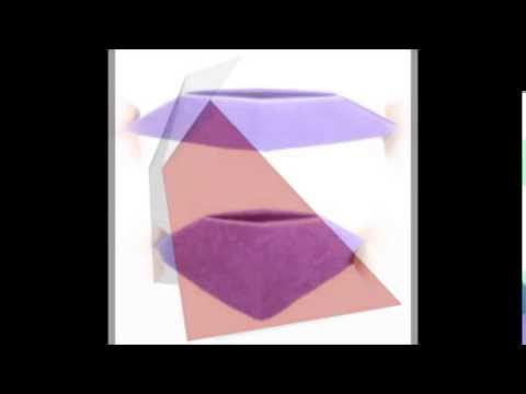 Diffrent Origami Folds