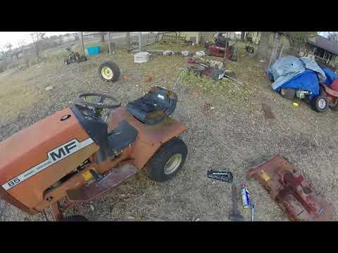 Massey Ferguson 85 lawn tractor deck