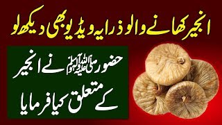 What Happens To Your Body If You Eat Daily 3 Slice Of FIG (Anjeer) Urdu Hindi   Urdu Lab