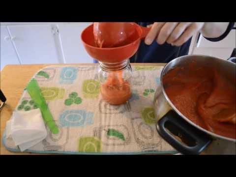 Canning Strawberry Applesauce