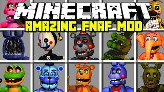 Minecraft AMAZING FIVE NIGHTS AT FREDDY
