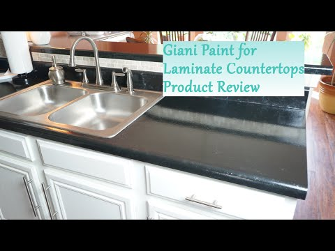 Painted Laminate Countertop Review - Giani System