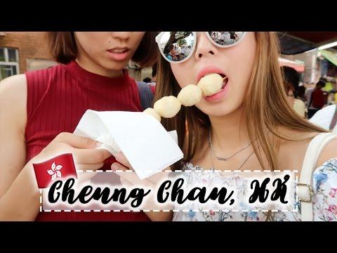 Munching My Way Through Cheung Chau Island   HONG KONG VLOG