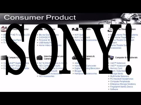 SONY  Professional Product & Consumer Product Line of Company