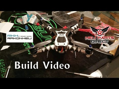 Rakon Heli Blade 200QX Carbon Fiber Advanced Frame Build Video