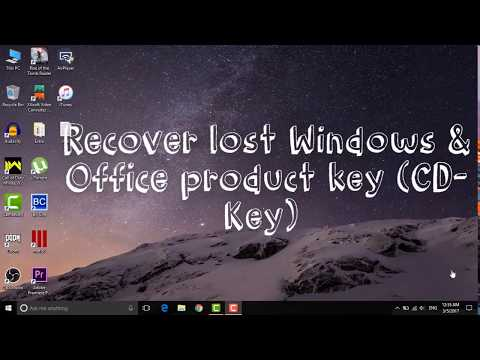 How To Find Your any Windows 10/8.1/8/7/XP Product Key
