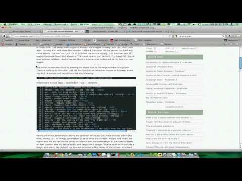 PHP, AJAX, Javascript Tutorial