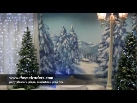 Winter Wonderland Props & Parties