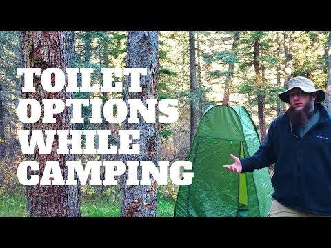 Toilet Options When Camping