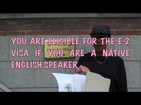 TEACH IN KOREA: E2 VISA APPLICATION PROCESS / Chelssology